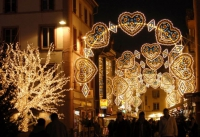 Lichterfest und Adventsmarkt in Montbéliard